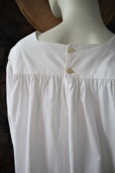 Camasa autentica traditionala panza alba broderie cruce