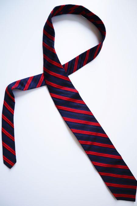 Cravata second hand lucrata manual matase Italia